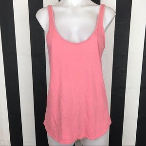 5 for $25 PINK VS Pink Open Back Tank Top